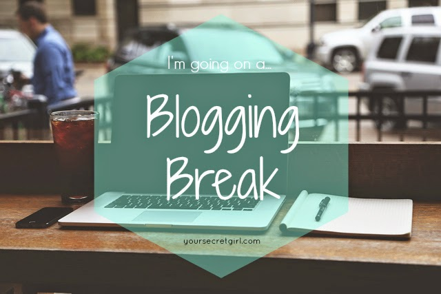Blogging Break 2 - a sequela