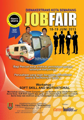 Lowongan Dinas Pekerjaan Umum 2013 Bursa Lowongan Kerja Terbaru 2016 Job Fair Disnakertrans Kota Semarang Juni 2013 Pamboedi Files