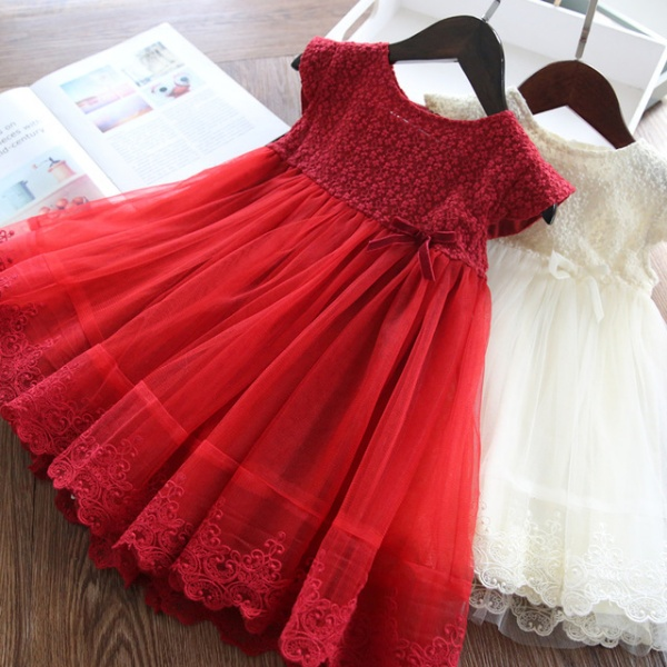 Baby Girls Dress Kids Dresses For Girls Casual Wear Children Clothing