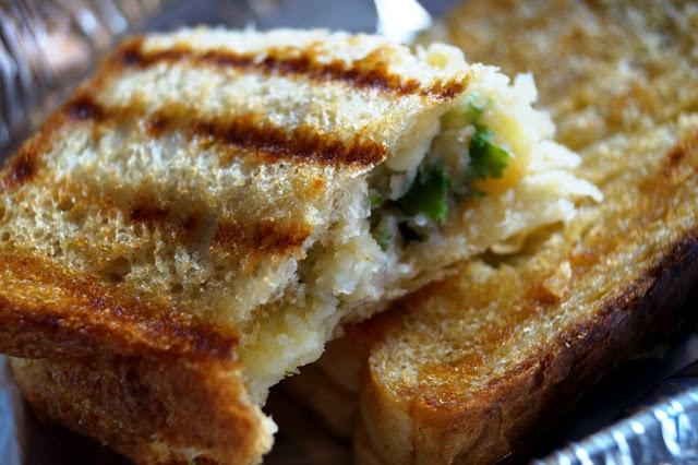masala aloo sandwiches