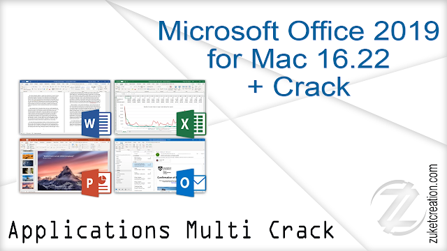 Microsoft Office 2019 for Mac 16.22 + Crack