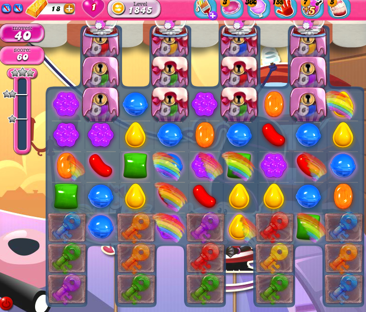 Candy Crush Saga 1845