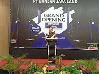 Resmikan Revive Hotel, Gubernur Ridho Bangga Investor Lampung Meningkat