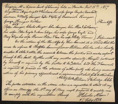 Augusta Co., VA Chancery Cause 1819-003, Image 64