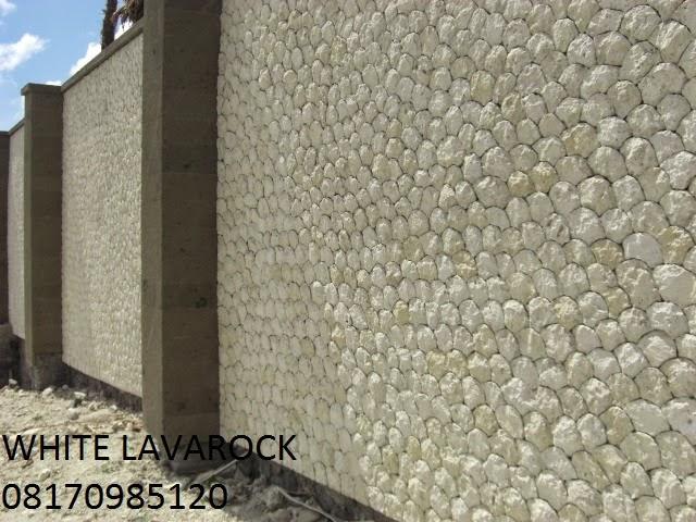 Jenis Batu Alam Lava Lombok