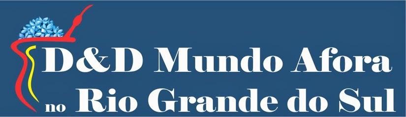 Selo D&D Mundo Afora no Rio Grandde do Sul