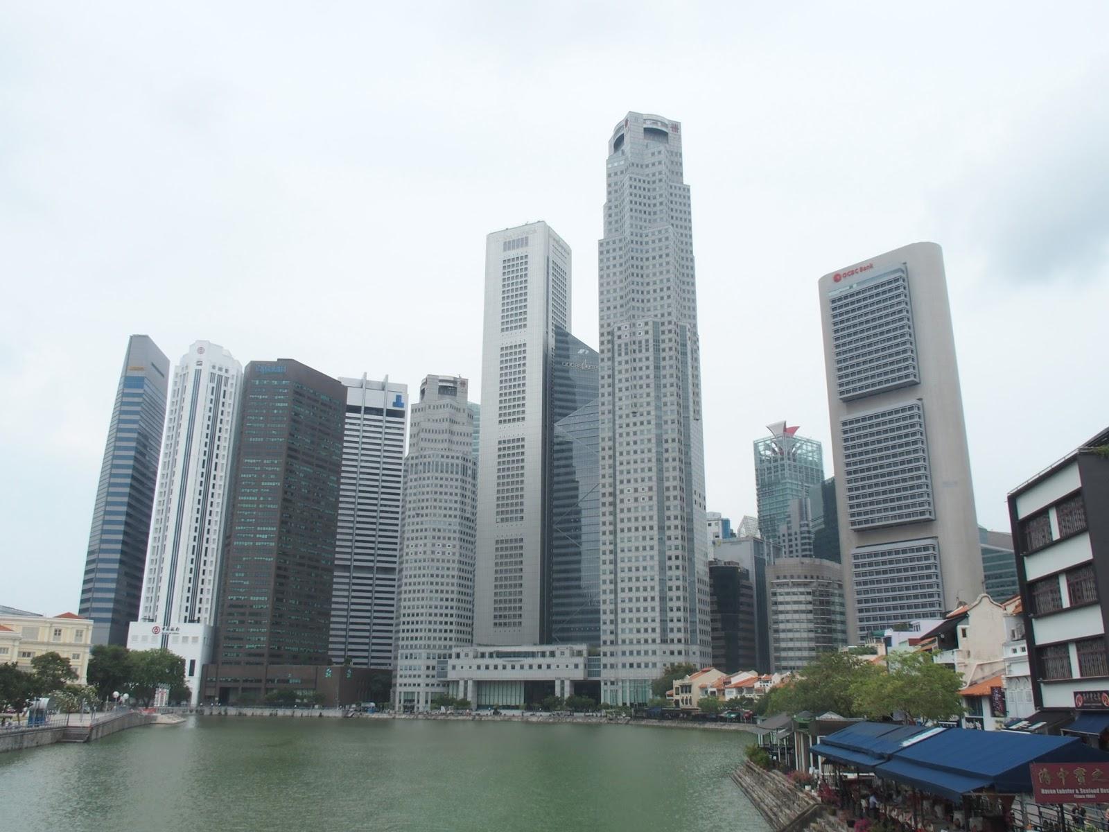 que configuran el paisaje ms popular de singapur hasta edificios de ms de metros de alto se concentran en esta zona de la ciudad