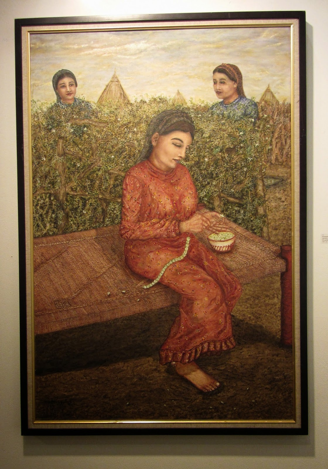 Jasmine girl Memories of Jasmine Abdulwahab Otif oil painting blog