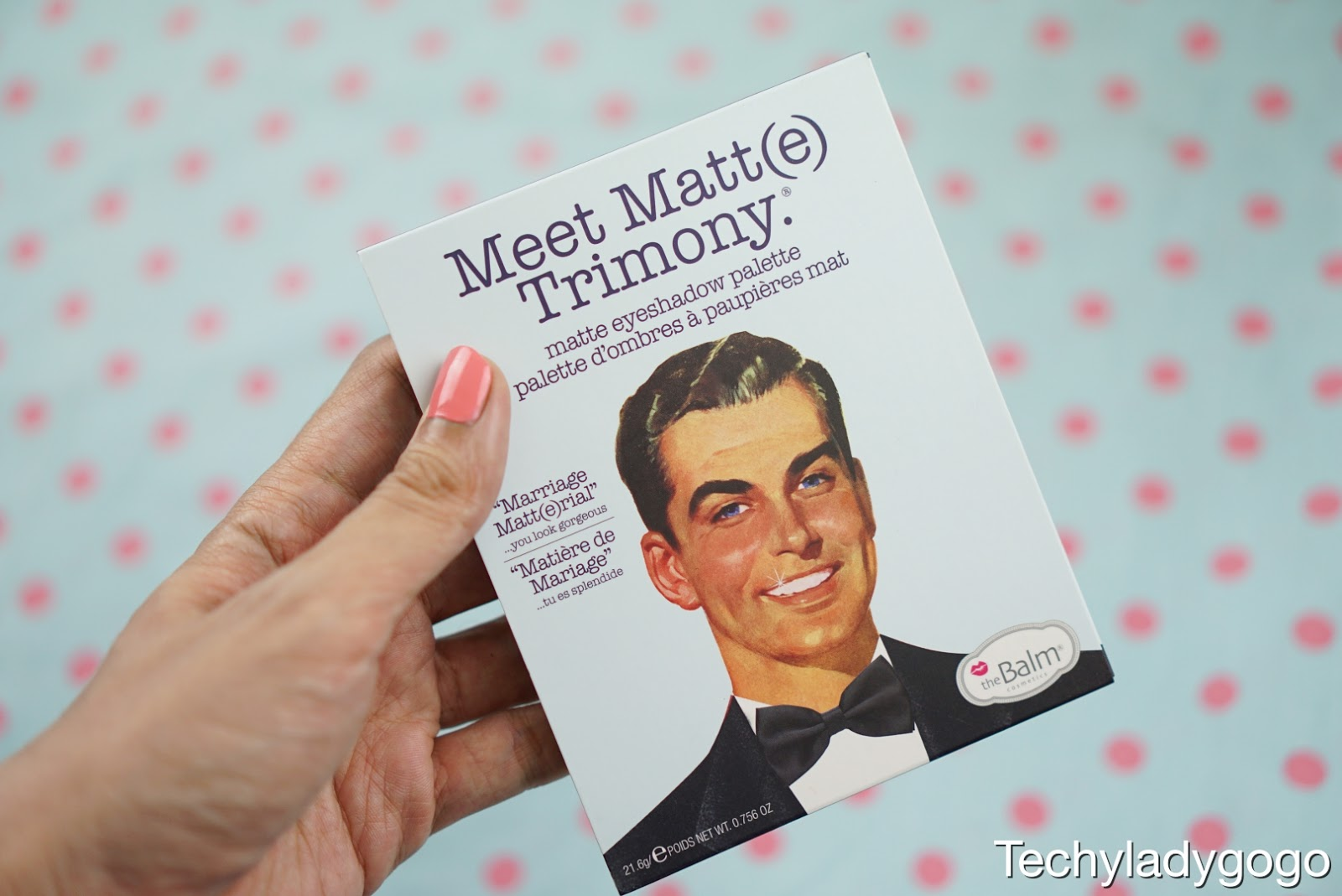 The Balm Meet Matte TRIMONY รีวิวอายชาโดว์พาเลท eyeshadow palette เนื้อแมตท์ใหม่ 9 โทนสี