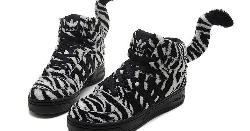 55db4c5655dc adidas jeremy scott wings  Vivid Adidas Jeremy Scott JS Zebra Panther  Athletic Shoes