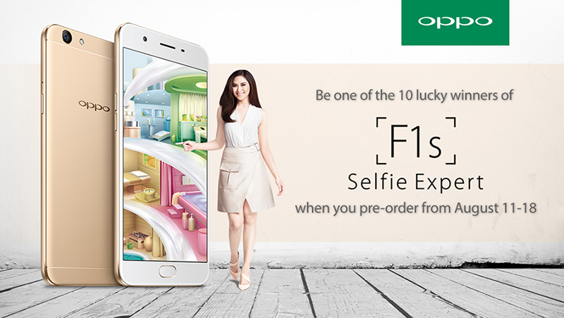 Pre Order Oppo F1s Now And Be One Of The Lucky 10 Winners Of Another F1s!
