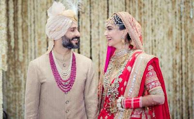 Sonam Kapoor Anand Ahuja Marriage