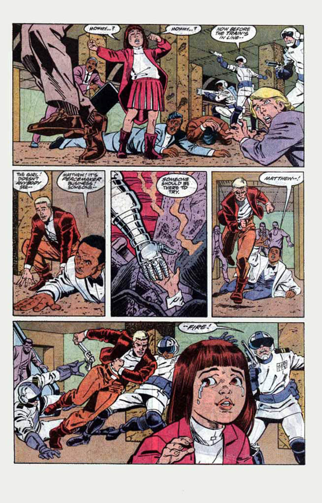 Read online Armageddon 2001 comic -  Issue #1 - 29