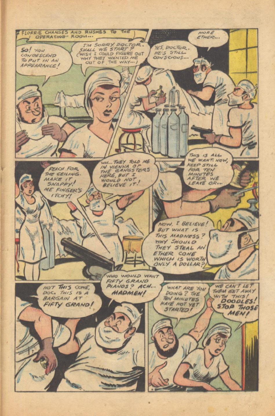 Read online Super-Magician Comics comic -  Issue #37 - 36