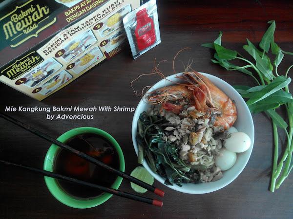 Mie Kangkung Bakmi Mewah With Shrimp