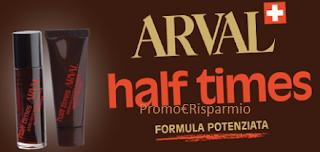 Logo Diventa tester Arval Half Times con MyBeauty