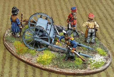 WAB Corner: Black Hussar Minis Napoleonic British Surgeons