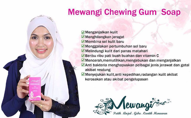 Mewangi Chewing Gum Soap