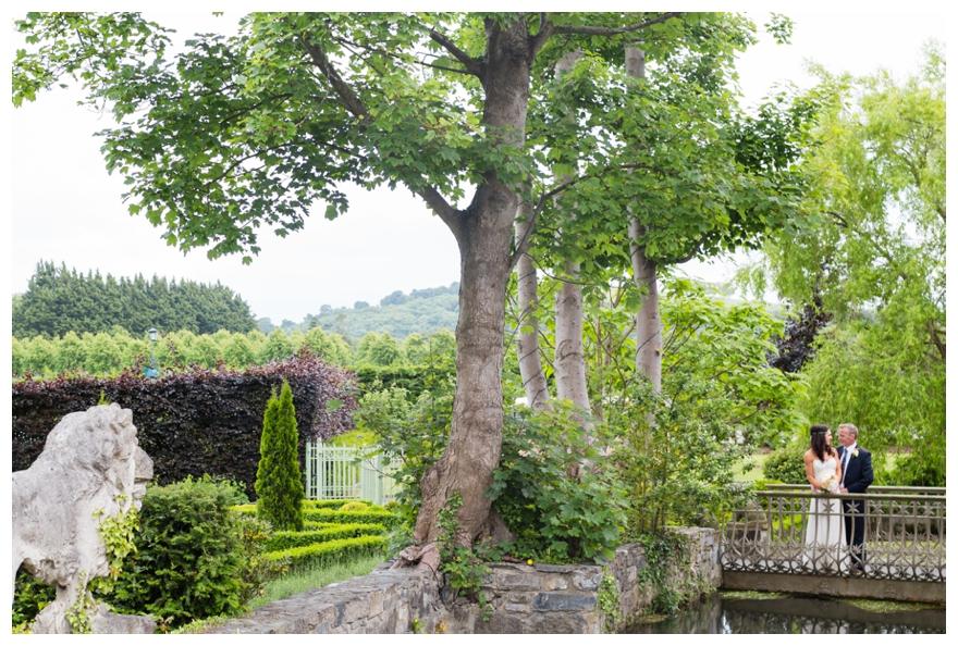 A Garden Wedding With A Bird Theme & Jenny Packham Dress