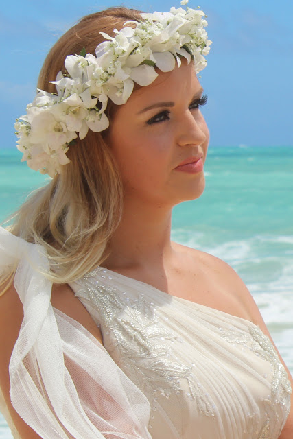 Pretty Blonde Bride