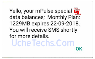 mtn mpulse data plans and codes