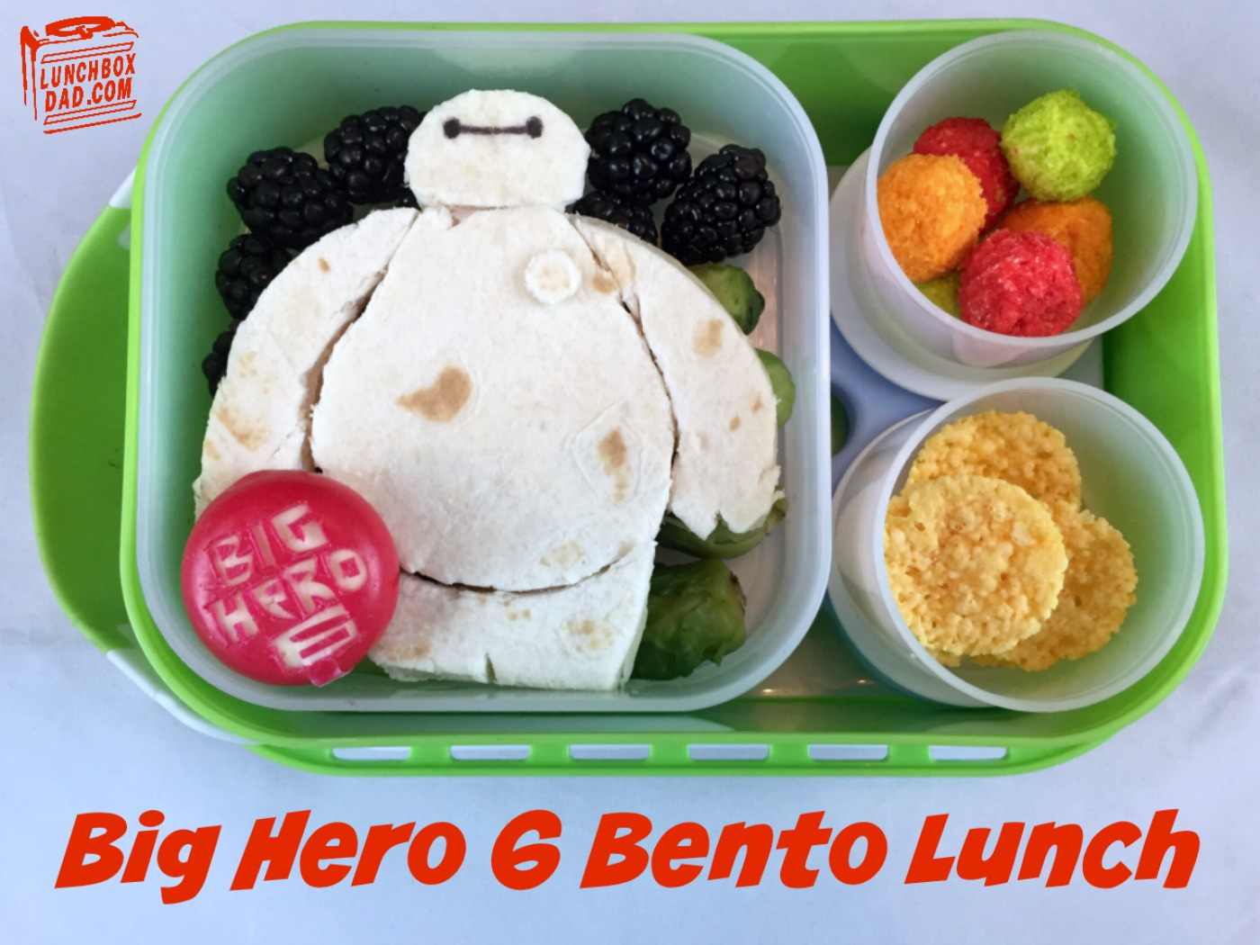 Disney's Big Hero 6 Superhero Bento Lunch