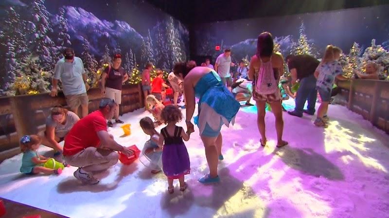 Playground Frozen Snowground na Disney em Orlando