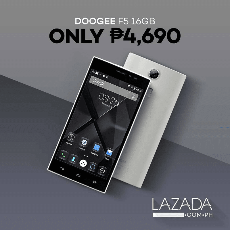 Doogee Launches F5 Lazada PH