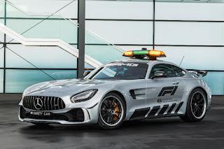 Mercedes-AMG GT R Formula 1 Safety Car (2018) Front Side