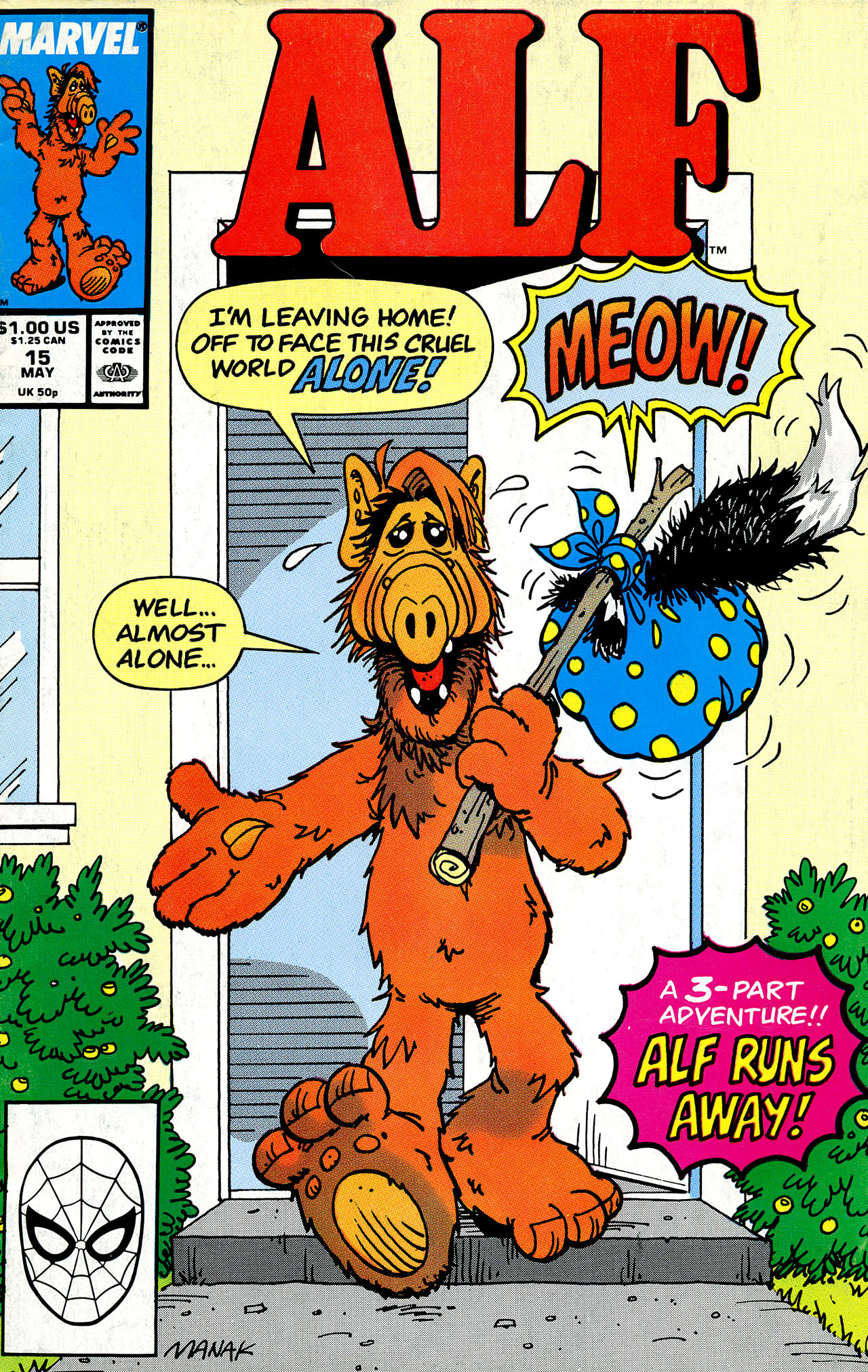 Read online ALF comic -  Issue #15 - 1