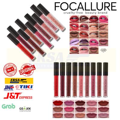 Focallure Ultra Chic Matte Lipstick | Lip Matte Original | Banten
