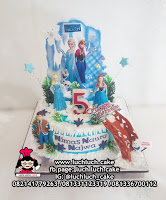 Frozen Disney Birthday Cake