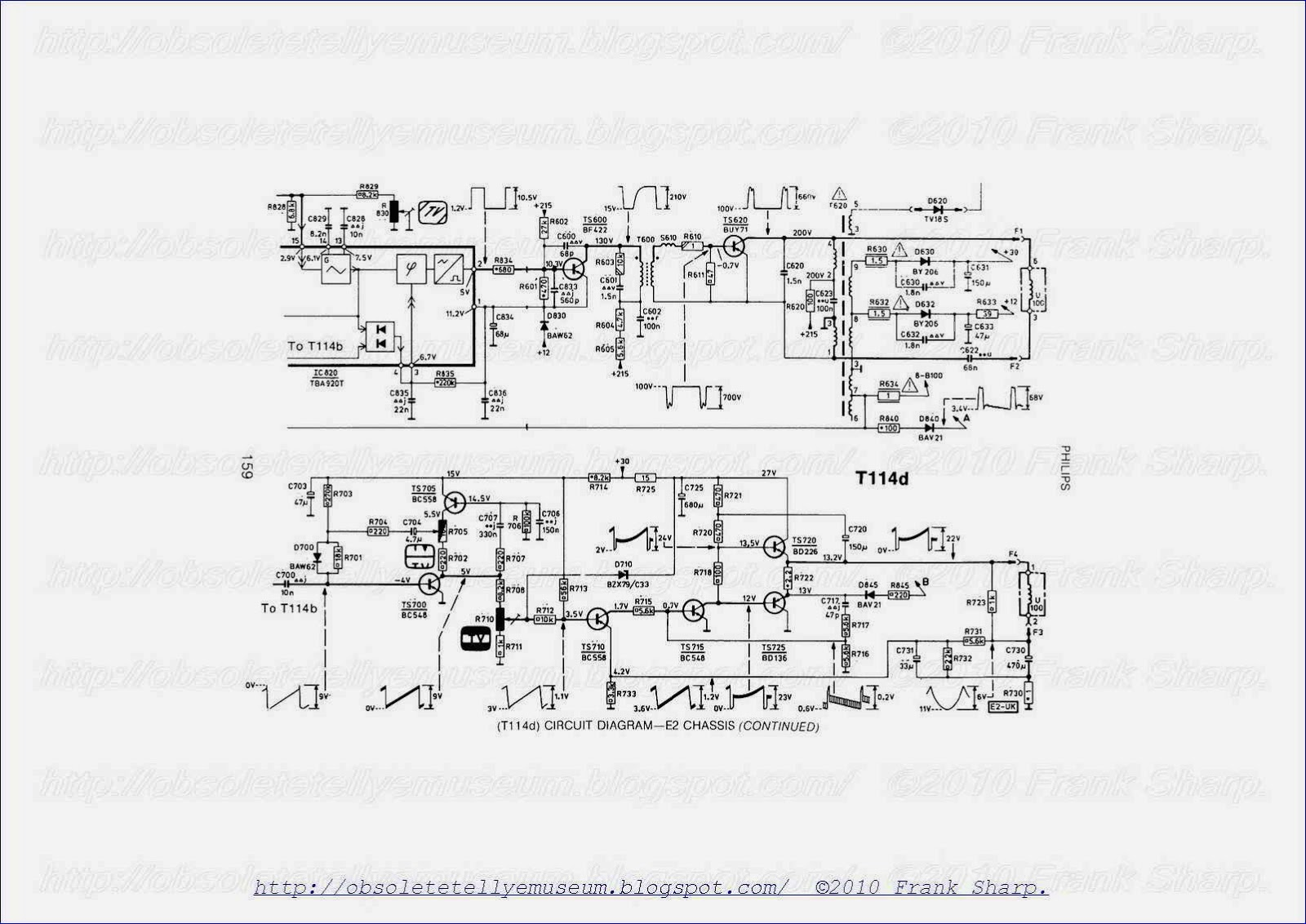 hight resolution of tba920 line oscillator combination