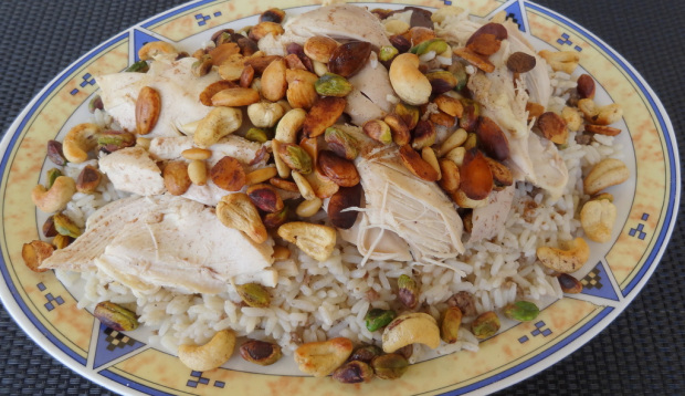 Rice and Chicken (Lebanese Way)