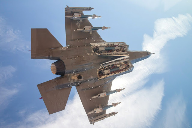 F-35A external weapons certification