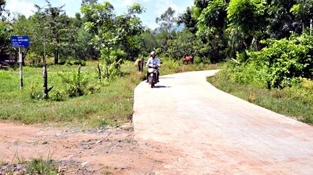 Con đường của nông thôn mới