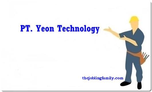 Lowongan Kerja Terbaru PT Yeon Technology 2018