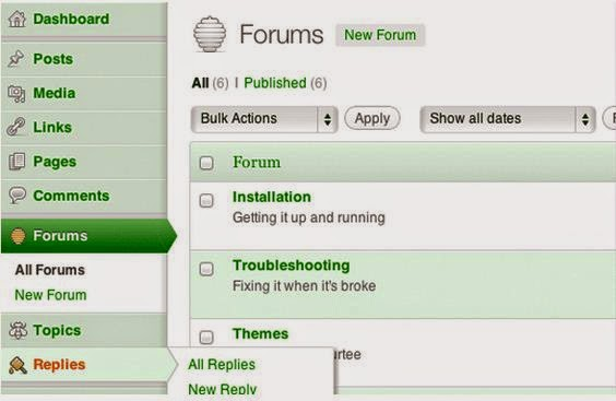 Vanilla wordpress forum plugin