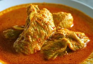 Resep Masakan Ayam Masak Kari Kental