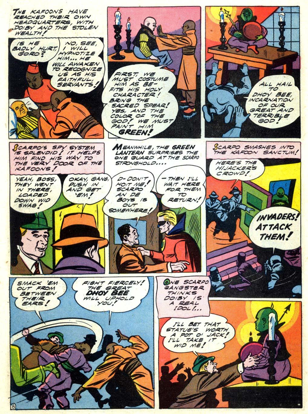 Read online All-American Comics (1939) comic -  Issue #40 - 10