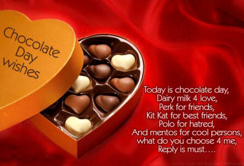 Top # 10+ Happy Chocolate Day Message Wishes Quotes 2016