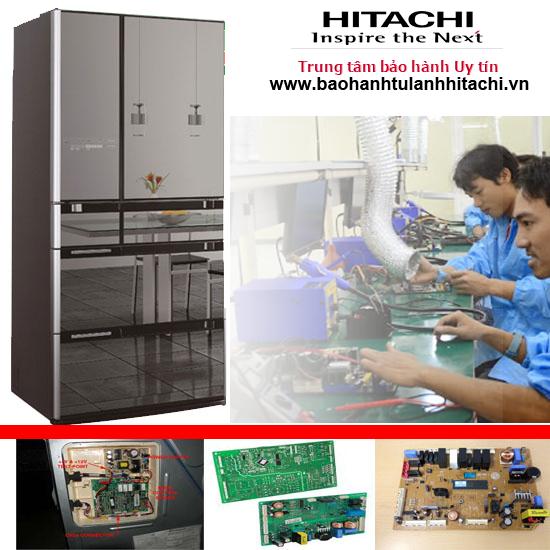 Sửa tủ lạnh Hitachi lỗi F004 (lỗi mạch xả đá)