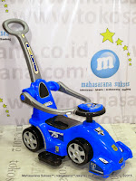 Ride-on Car Pliko PK552T Molenar 3 in One Stroller, Riding Car, Walker Car