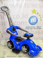 Ride-on Car Pliko PK552T Molenar 3 in One Stroller, Riding Car, Walker Car