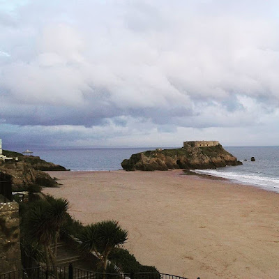 Dramatic sea at Tenby