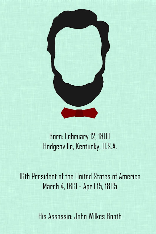 Abraham Lincoln, 16th President of the United States of America. | The Creative Godown