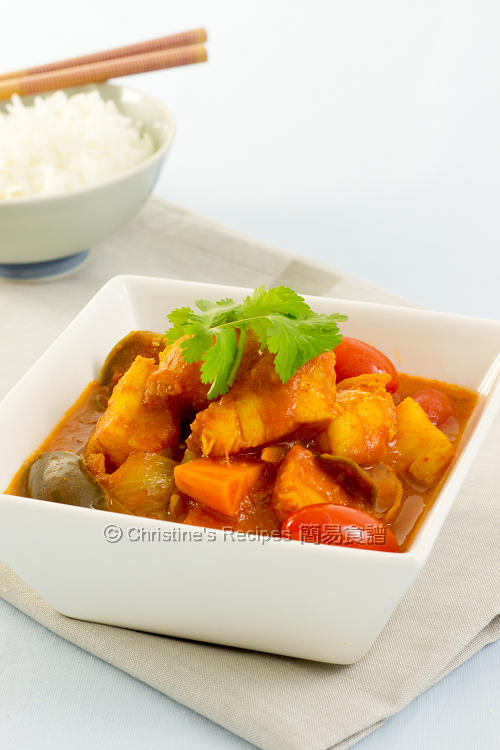 咖哩番茄魚 Fish Tomato Curry01