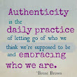 My Daily Reflections: Healing toward Authenticity