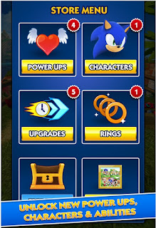 Sonic Dash Mod Apk UPDATE v3.7.5 Go (Unlimited Money/Unlock/Ads Free)