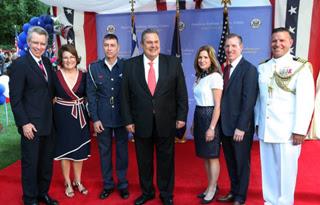 Αποτέλεσμα εικόνας για Γιορτή 4ης ΙΟυλίου - αμερικανική πρεσβεία 2018